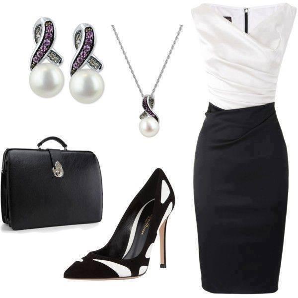 elegantni outfit do prace i na vecirek