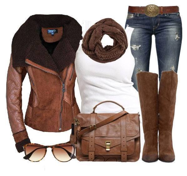 outfit na podzim/ zimu