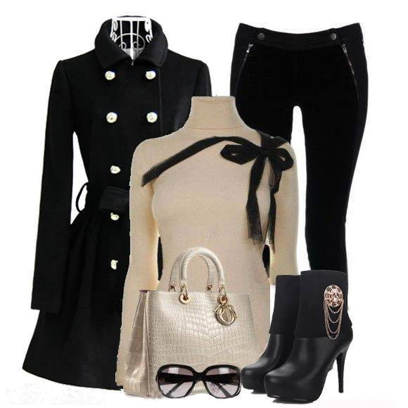 outfit na zimu