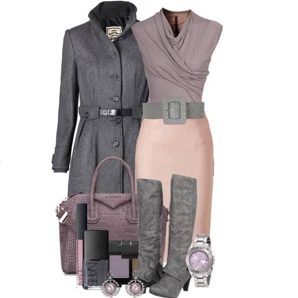 outfit na podzim i zimu