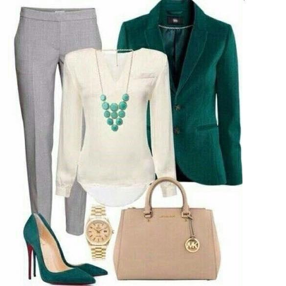 elegantní jarní outfit